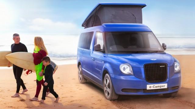 London Taxi Hadirkan Mobil Listrik Berkonsep Campervan