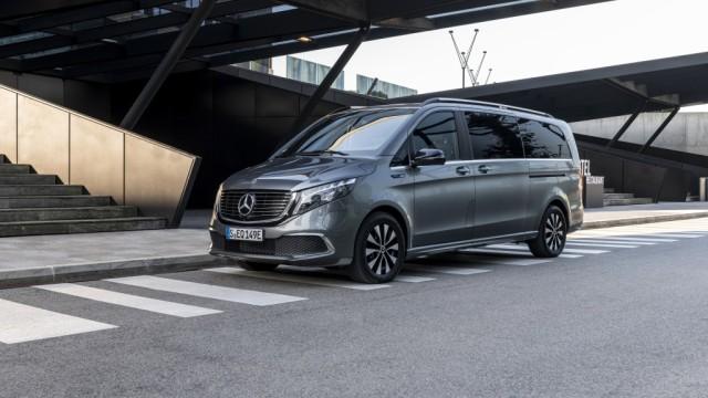 Mercedes-Benz Rilis EQV, Van Pertama Berpenggerak Listrik