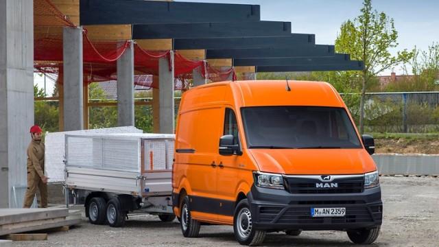 MAN TGE, Van yang Cocok untuk Pebisnis Jasa Antaran Paket dan Kargo
