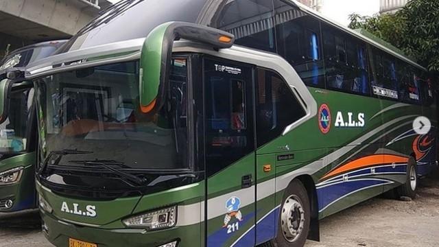 Bus Baru PO ALS, Berbodi Avante H7 Tapi Non-AC