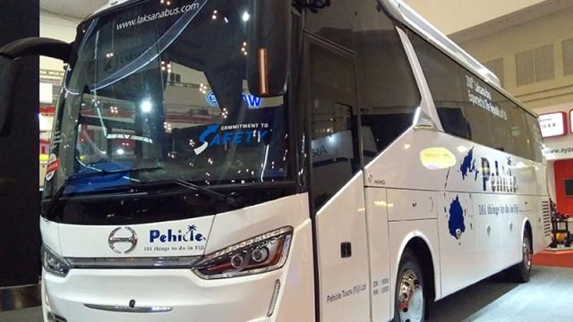 Sama-Sama Produksi Ungaran, Ternyata Ada Perbedaan Bodi Bus Lokal dan Ekspor