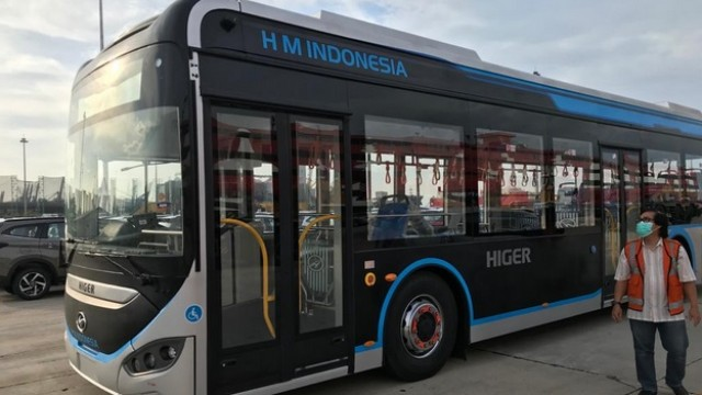 Ini Spek Bus Listrik Higer Untuk Transjakarta