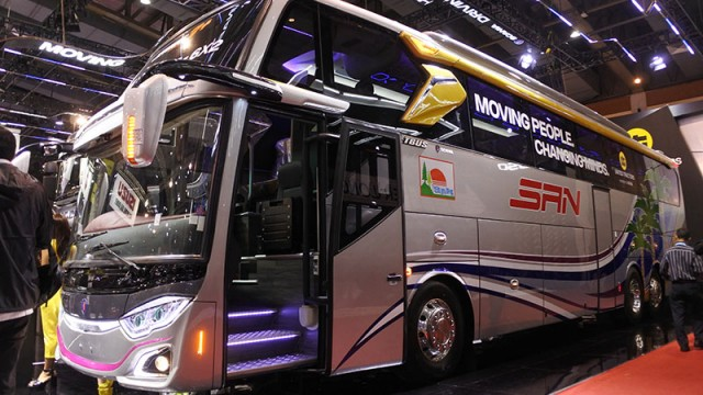 Bodi Bus PO SAN, Ternyata Bukan Jetbus 3+ Biasa