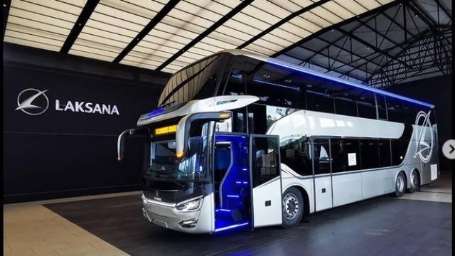 Delapan Bus Tingkat Legacy SR2 Diekspor Ke Bangladesh