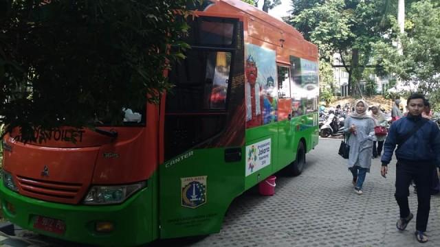 Sebanyak 33 Bus Toilet Siap Layani Warga DKI Di Perayaan Malam Tahun Baru