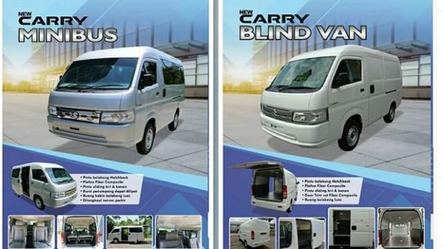 Bocoran Harga Suzuki New Carry Minibus dan Blind Van, Tembus Rp 200 Juta!