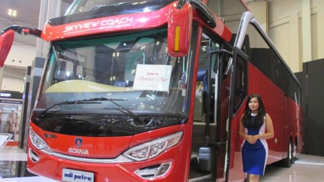Tengok Plus-Minus Bus Double Glass Model Tumpuk