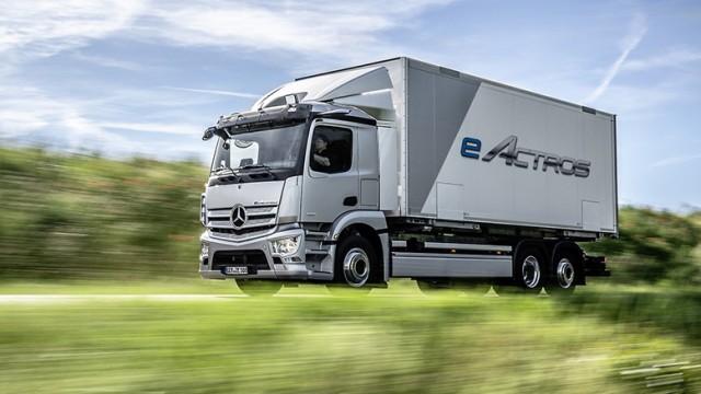Truk Listrik Mercedes-Benz eActros Siap Meluncur Di Eropa