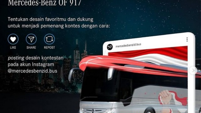 Mercedes-Benz Indonesia Gelar Kontes Desain Medium Bus OF 917