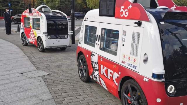 KFC Hadirkan 'Food Truck' Otonom Di Tiongkok