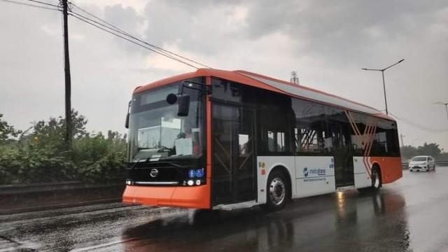 Ini Penampakan Bus Listrik Baru Metrotrans, Pakai Armada Lower Deck Dari BYD
