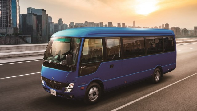 BusConnect, Perangkat Baru Pada Bus Fuso Rosa Anyar