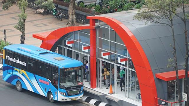 Asyik, Tiap Selasa Naik Bus Trans Semarang Bisa Pakai Botol Plastik Bekas