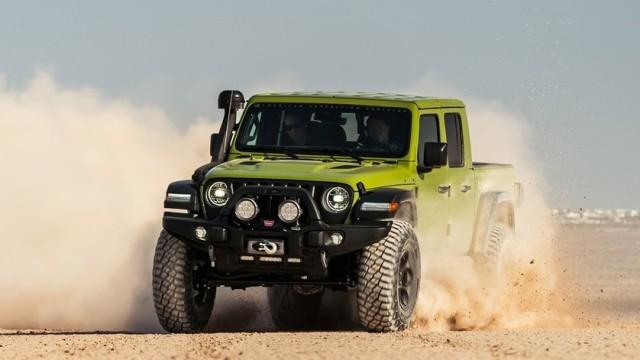 Suspensi Baru Jeep Gladiator, Tangguh Angkut Barang Tapi Tetap Nyaman