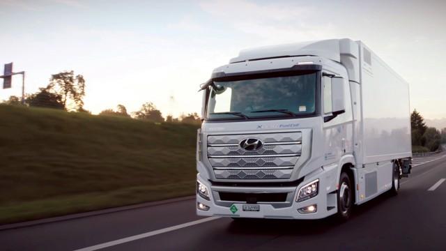 Hyundai Siap Kirim 4.000 Truk Hidrogen Fuel Cell Ke Tiongkok