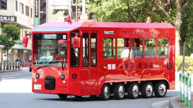 Ikebus Toshima Omnibus, Bus Kota Unik Yang Mirip Kaki Seribu