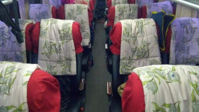Cegah Corona, Bus Antarkota Tiadakan Fasilitas Bantal dan Selimut
