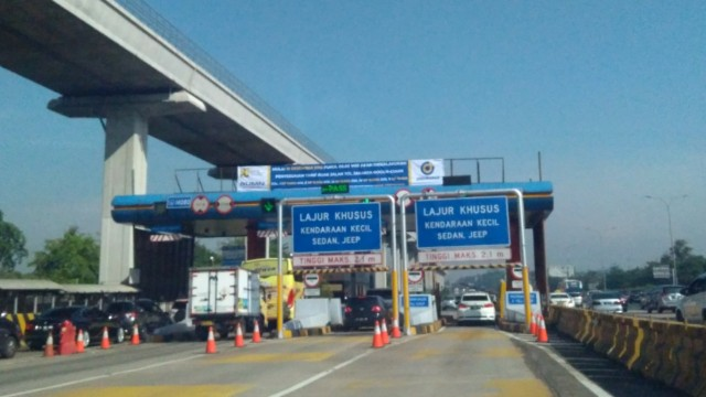 PPKM Diperpanjang, Gerbang Tol Dioperasikan Terbatas Khusus Logistik