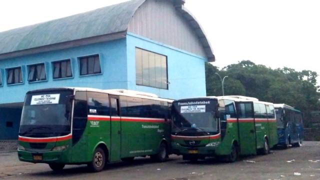 Mayasari Bakti Stop Operasional TransJabodetabek Reguler P9B