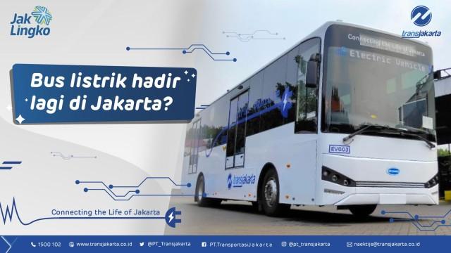 Bus Listrik Baru Transjakarta, Andalkan Produk Skywell