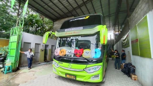 Sederet Bus Jurusan Jakarta-Jawa Timur Stop Operasi Saat PPKM Darurat