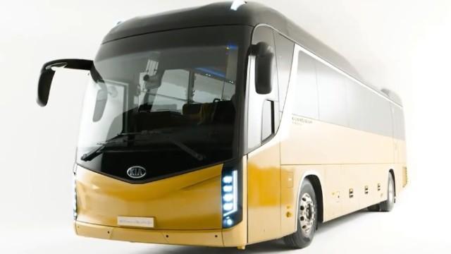 Ini Bocoran Bus KIA Granbird S Premium Silkroad Versi 2021