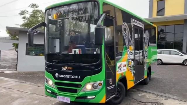 Piala Mas Rilis Bus Trans Metro Deli Asal Medan
