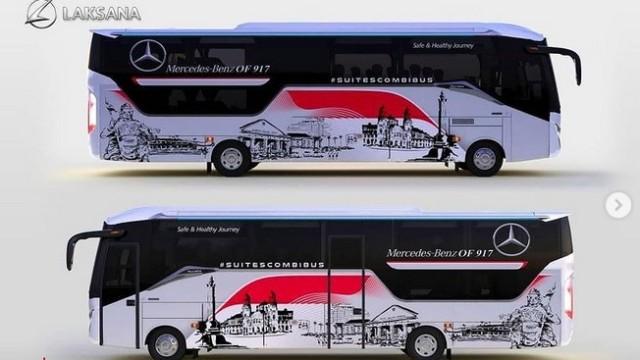 Bus Konsep Mercedes-Benz OF917 Dari Laksana, Nyaman Buat Jalan Jauh