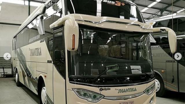 PO New Shantika Hadirkan Bus Baru, Ada Versi Social Ditancing
