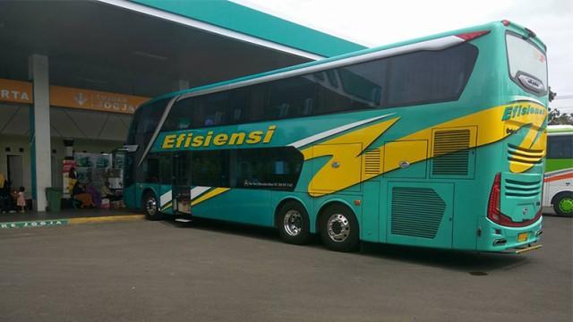 Review: Bus Super Double Decker PO Efisiensi Kebumen