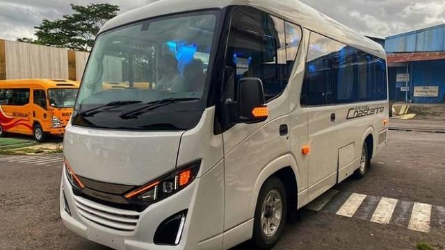 Karoseri New Armada Hadirkan Coasterina, Microbus Tanpa Tampang Truk