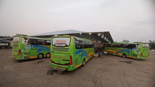 Ada PPKM Darurat Jumlah Penumpang Bus AKAP Menurun, Logistik Meningkat