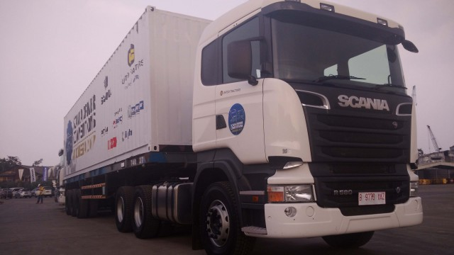 Scania R580 : Mencicipi Raksasa Canggih Bertorsi 2.949 Nm