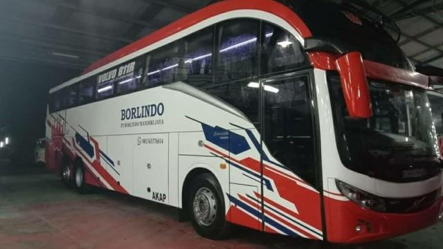 PO Borlindo Hadirkan Bus Volvo B11R Berbodi Evolander Unik