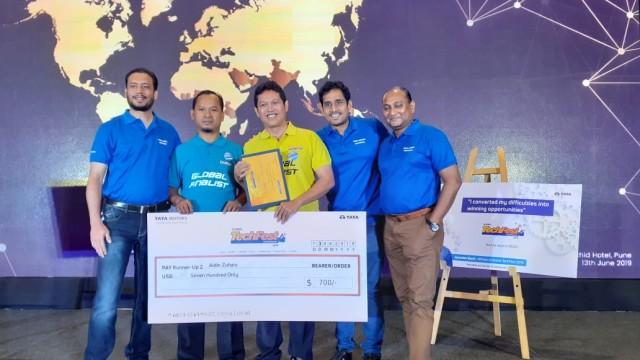 Indonesia Sabet Juara 3 di Kompetisi Mekanik Tata Motors Global TechFest & SkillFest 2019 di India