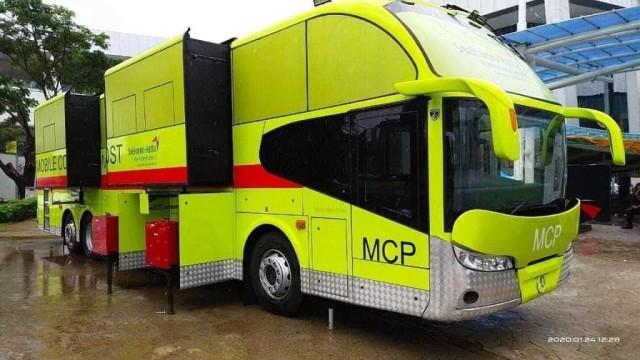 Angkasa Pura II Resmikan Mobile Command Post  Bersasis Mercedes-Benz