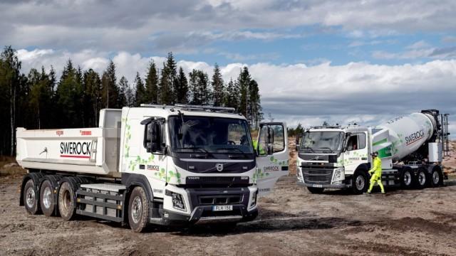 Volvo Mulai Uji Truk Listrik di Bidang Kontruksi