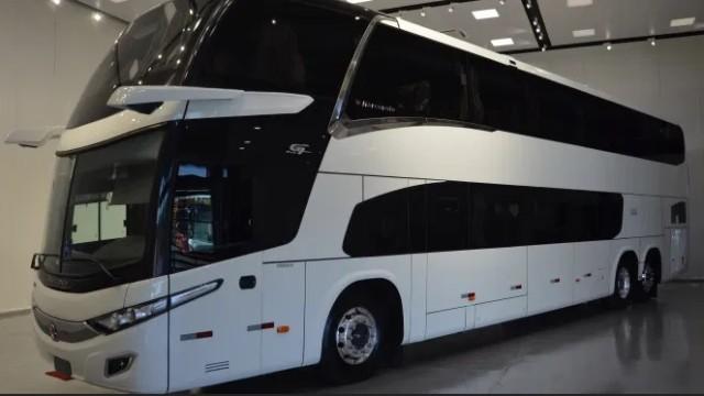 Bus Tingkat Marcopolo Paradiso New G7 Hadir Tanpa Kaca Spion!