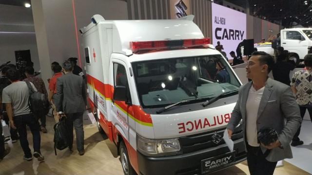 Suzuki New Carry Pick Up Kendaraan Multiguna: Dari Angkot Hingga Ambulans