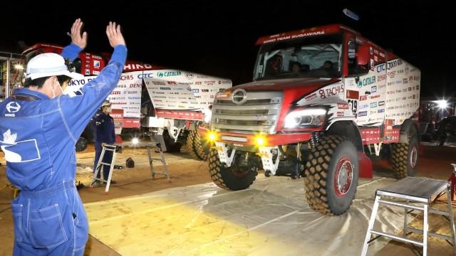Truk Hino Jadi Satu-satunya Tim Pabrikan Jepang di Dakar Rally 2020
