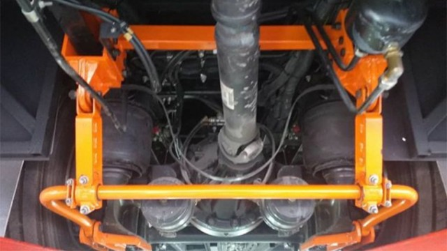 Karoseri Tentrem Membuat Stabilisator Untuk Bus Air Suspension Tipe Narrow