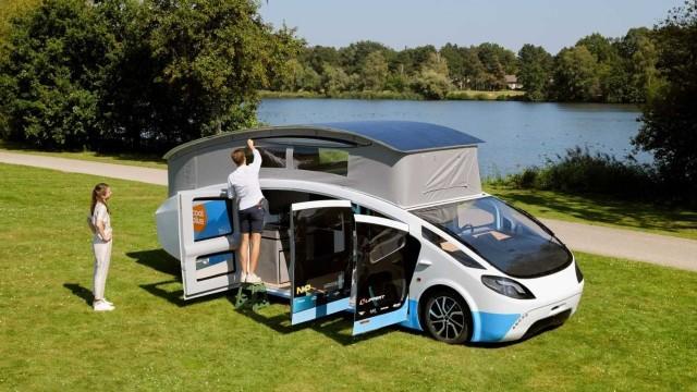 Camper Van Dengan Panel Surya Karya Mahasiswa
