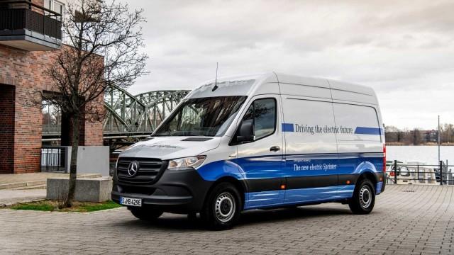 Mercedes-Benz eSprinter, Pilihan Baru Van Listrik Berdaya Angkut Lebih Besar