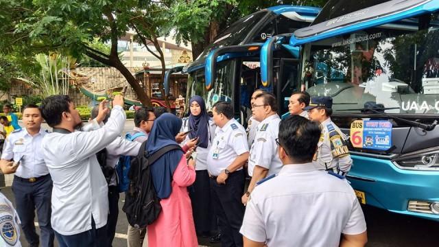 Sidak Bus Pariwisata : Jangan Asal Cari Murah. Cek Kondisi Armadanya!