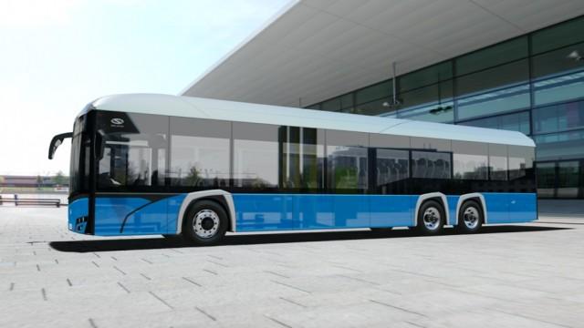Solaris Kenalkan Bus Listrik Tronton 15 Meter
