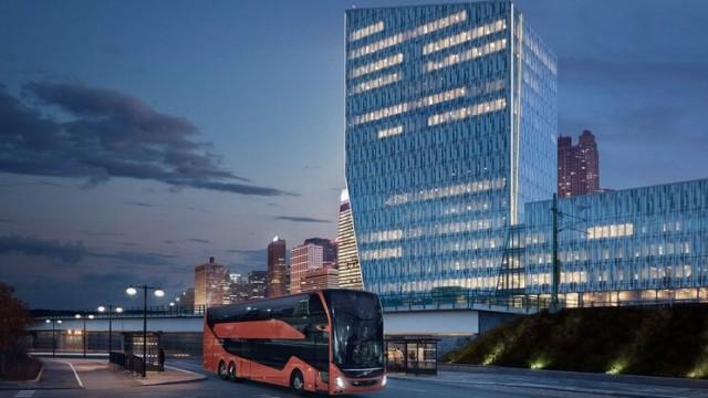 Volvo Luncurkan Bus Double Decker Baru 9700 DD, Negara Ini Jadi Pemakainya