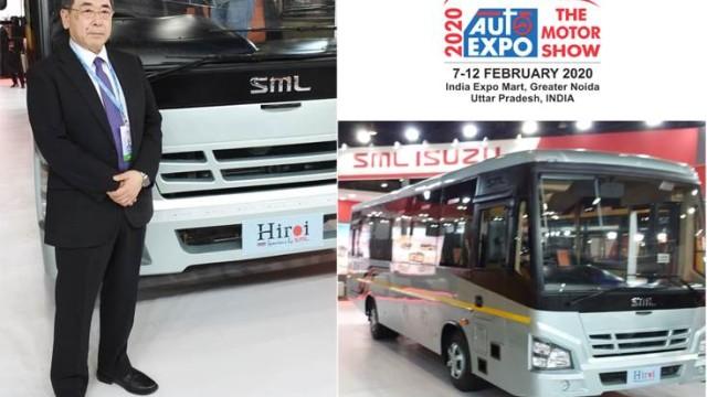 Isuzu Siap Jualan Bus Bermesin Depan Euro 6