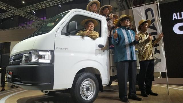 Suzuki Gelar World Premiere New Carry Pick Up