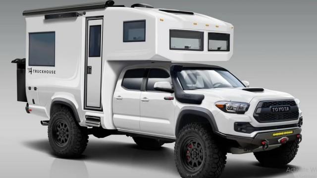 Disulap Jadi Camper Van, Pikap Ini Tembus Rp 4 Miliar!