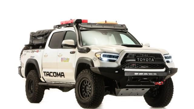 Toyota Tacoma Modifikasi Outdoor Jadi Andalan Di SEMA360 2020